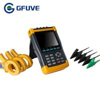 Quality GFUVE HANDHELD THREE PHASE POWER QUALITY ANALYZER WITH 6000A CURRENT PROBE for sale