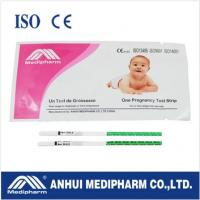 China CE ISO certified HCG Pregnancy Test Strip wholesale