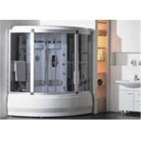 China Comfortable Whirlpool Steam Shower Bath Cabin Unit With Computer Control Panel wholesale
