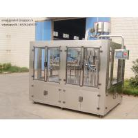 China 330-2000ML Carbonated Drink Filling Machine , Bottle Washing Filling Capping Plant on sale