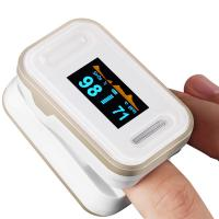 China Hospital SPO2 Fingertip Pulse Digital Oximeter With OLED Screen wholesale