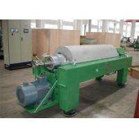 China Tricanter Centrifuge / Horizontal Decanter Centrifuge For Water Solid Oil Separation wholesale