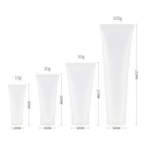 China Transparent 2oz Squeeze Travel Bottles With Flip Cap wholesale