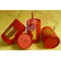 China Wedding Gift Large Diameter Cardboard Tube Packaging With Ribbon wholesale