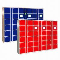 China Customized Electronic/Barcode/IC Card Lockers, LED Display, Safe and Convenient wholesale