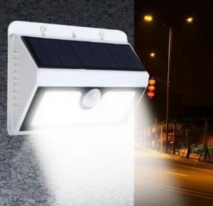 China Solar Powered PIR Motion Sensor 20 LED Wall Light Outdoor Garden Security Lamp on sale