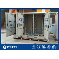 China Three Compartments Outdoor Street Cabinets Telecoms For Base Station / 4G System wholesale