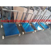 Buy cheap Movable Bench Weighing Scale With Wheels / Back Rail 60 X 80cm 500kg ROHS Approved from wholesalers