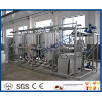 China 5TPH 10TPH Small Conjunct Type CIP Cleaning System for Manually / Semi - auto on sale