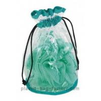 China Recycled Environmental Transparent Drawstring Bag OEM / ODM For Shampoo Package wholesale