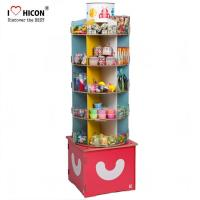 Buy cheap Inspire Kids Floor Standing Spinner Display Rack POP Toy Store Display Stand from wholesalers