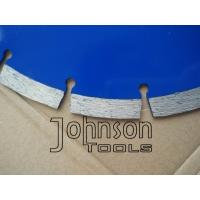 Buy cheap 250mm Diamond Stone Saw Blades , 10 Inch Diamond Blade for Granite Cutting from wholesalers