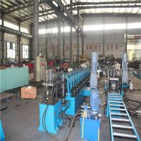 China Galvanized Outdoor Flexible Perforated Cable Tray Machine with Decoiling / Feeding / Guiding wholesale
