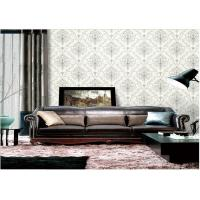 Quality Removable Embossed Vinyl Wallpaper , Washable Embossed Textured Wallpaper for sale