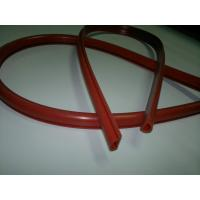 China Red Elastic Rubber Cord Or Extrusion Rubber Tubing Approved AS568 Standard For Assemble Parts wholesale