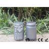 China Customized Mason Jar Led Solar Lights , Solar Powered Mason Jar Lantern wholesale