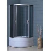 China Hotel Luxury Bathroom Shower Cubicles , Custom Glass Shower Enclosures wholesale