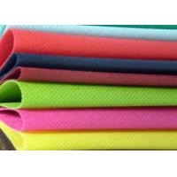 Buy cheap White Blue Red Yellow Non Woven Polypropylene Fabric Eco Friendly from wholesalers