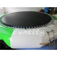 China 0.9mm PVC Tarpaulin Inflatable Water Trampoline For Amusement Water Park on sale