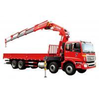 China Fast  Knuckle Boom Truck Mounted Crane For Heavy Things Lifting,16Ton wholesale
