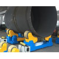 China Self Aligned Welding Rotator 20 Ton Driving Capacity Pipe Roller Industry Use wholesale
