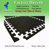 China EPDM Dotted Rubber Floor Mats, Gym Rubber Mat For Fitness Room wholesale