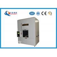 China ASTM D5025 Horizontal and Vertical Combustion / Flammability Tester For Wire and Cable wholesale