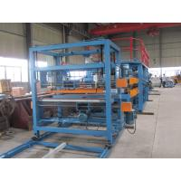 China 1250mm Width EPS Sandwich Panel Production Line 28Kw , Sandwich Panel Forming Machine wholesale