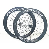 China U Shape 60mm Carbon Fiber Bike Wheels Clincher Tubular Rim Basalt Brake wholesale