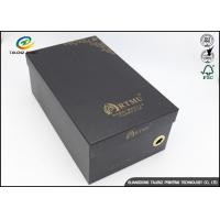 Buy cheap Gold Hot Stamping Logo Custom Printed Corrugated Packaging Box For Footwear from wholesalers