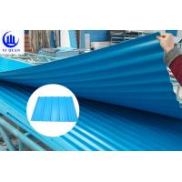 China Fire Resistance PVC Roof Tiles Sheet For Warehouse , Customize Length wholesale