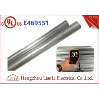 China Exterior 1 Hot Dip Galvanized Metal Electrical Conduit with UL Listed wholesale