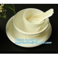 China 500ml sugarcane bagasse compostable disposable bowl bagasse pulp paper bowl,microwavable disposable sugarcane paper pulp on sale