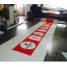 China Fire Retardant Matte PVC Laminated Tarpaulin / Warp Knitting Tarp for Side Curtain wholesale