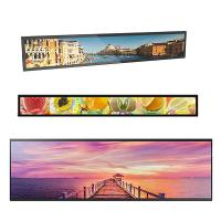 China 700 Ntis Stretched Bar Lcd Display 1920*540 Max Resolution 50,000 Hours Panel Life wholesale