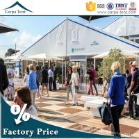 Buy cheap Waterproof PVC Coated Exhibition Tents , 600 Seater Outdoor Event Tents from wholesalers