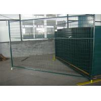 Buy cheap 1830mm x 2900mm width temporary fencing panels ,construction security temporary wire fence mesh 50mm  x 200mm from wholesalers
