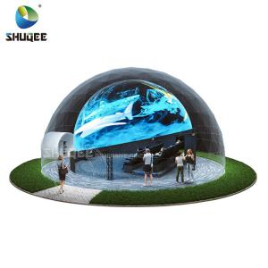China Big Profit Business 14 People 5D Cinema Dome Projection Built On The Playground wholesale