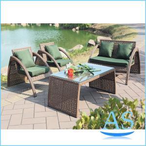Details Of Cheap Outdoor Patio Sofa Set Pe Rattan Garden Sofa Set Restaurant