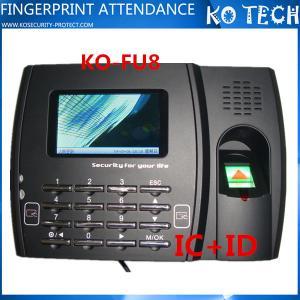 China Biometric Optical Fingerprint Reader Time Attendance System FU8 wholesale