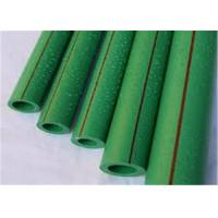 China Green Color Plastic PPR Pipe 6M Length PN20 Thickness Heat - Enduring wholesale