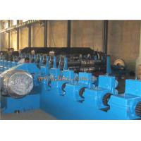 China GCR12 Steel Silo Roll Forming Machine , AC Motor Pipe Making Machine PLC Control wholesale