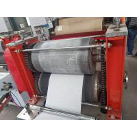 Quality small scale fully automatic tissue paper napkin cutting embosser printing making for sale