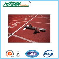 Quality Commercial Rubber Flooring Adhesive Playground Running Track Colorful Breathable Floor for sale