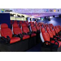 China Dynamic Electric 9D Movie Theater For Commercial Shopping Mall / 9D Action Cinemas wholesale