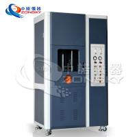 China Vertical FRLS Testing Instruments , Single Wire And Cable Combustion Test Equipment wholesale