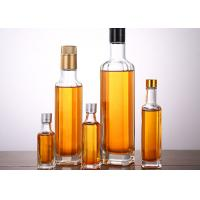 Buy cheap Transparent Glass Oil Bottles Varity Capacity , Crystal Glass Camellia Oil from wholesalers
