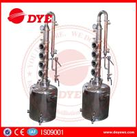 China 50L Professional Home Distilling Equipment 4 Plates , Vodka Distillation Kit wholesale
