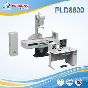 China Medical diagnostic X-ray fluoroscope Machine PLD8600 low dose wholesale