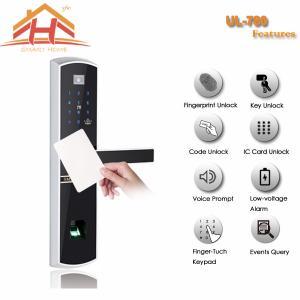 China Remote Control Security Card Door Locks , Card Reader Door Lock System wholesale